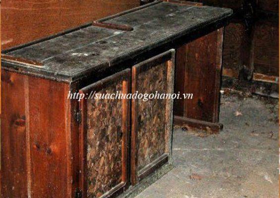 thợ mộc sửa chữa đồ gỗ bị ẩm mốc tại hà nội