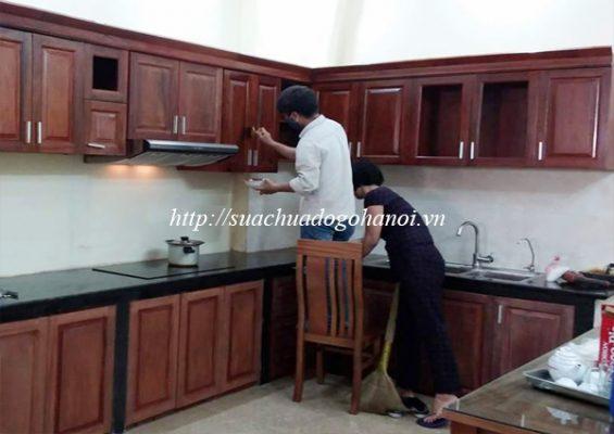 thợ mộc sửa chữa tủ bếp tại hà nội