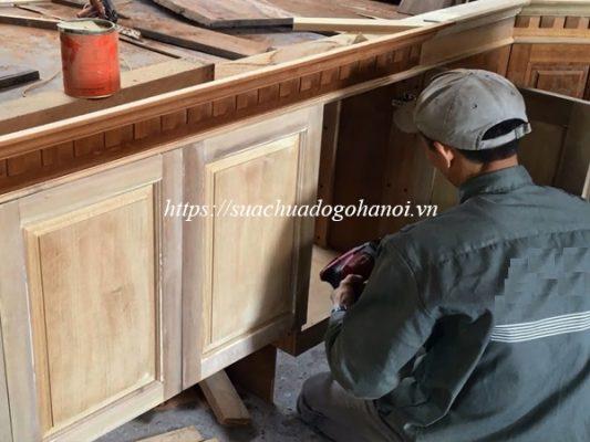 Dịch vụ sửa chữa tủ bếp chuyên nghiệp Hải Nam tại Hà Nội