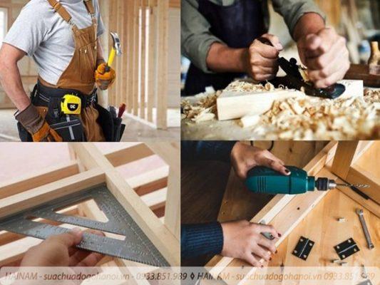 Lưu ý khi tìm đến thợ mộc sửa đồ gỗ