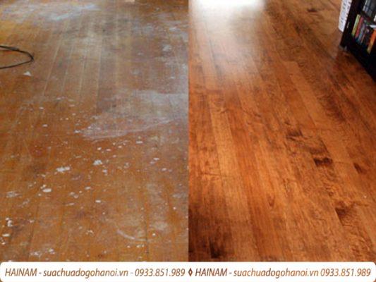 Quy trình sửa chữa đồ gỗ