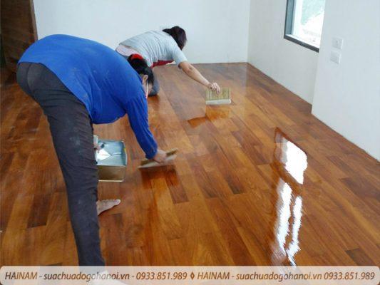 Quy trình sửa chữa đồ gỗ của Hải Nam