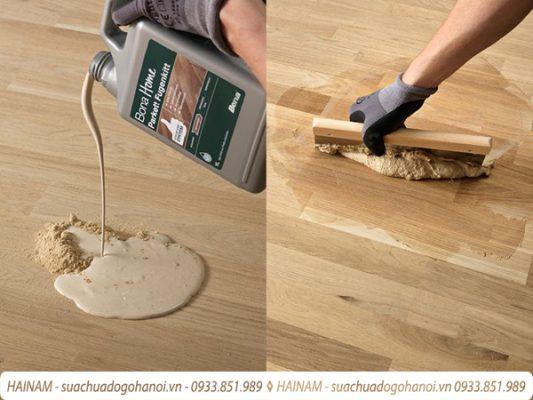 Quy trình sửa chữa đồ gỗ tại Hải Nam