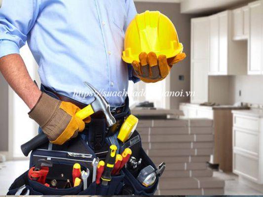 Quy trình sửa chữa tủ bếp chuyên nghiệp