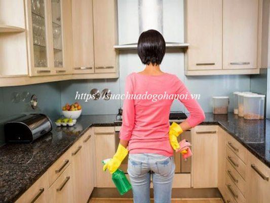 Sử dụng, bảo quản tủ bếp đúng cách