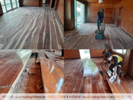 Sửa chữa đồ gỗ tại quận Hà Đông Hà Nội