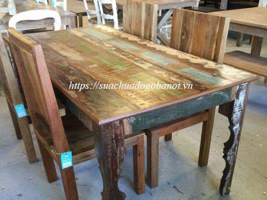 sửa chữa bàn ghế gỗ