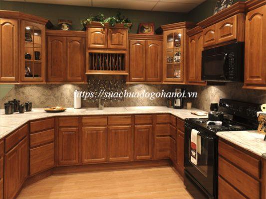 Sửa chữa tủ bếp khi giá trị tủ bếp nhà bạn cao