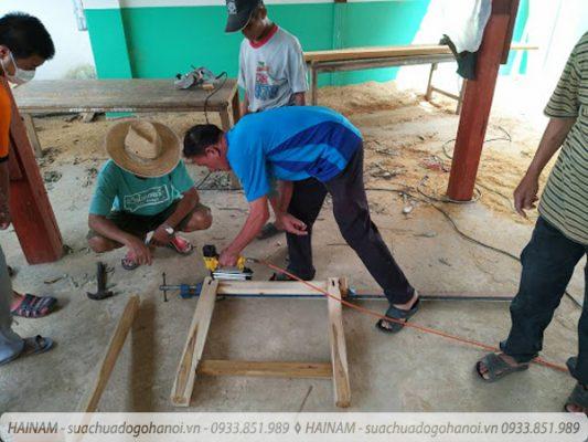 Sửa chữa đồ gỗ tại quận Hà Đông Hà Nội liên hệ 093 385 1989 - 4