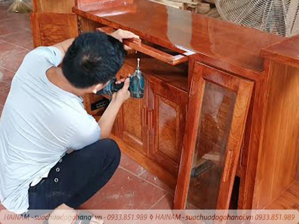 Tại sao nói dịch vụ sửa chữa đồ gỗ đơn Hải Nam có GIÁ RẺ