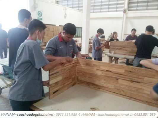 Kỹ năng kiến thức của thợ đóng đồ gỗ mới