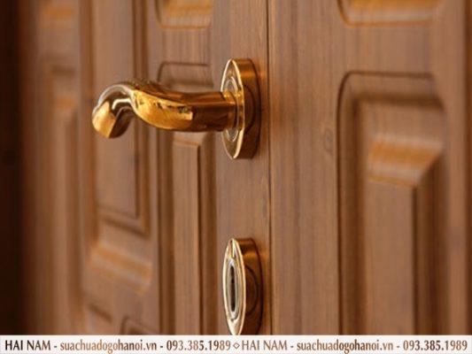 Sửa khóa cửa gỗ tại Hà Nội